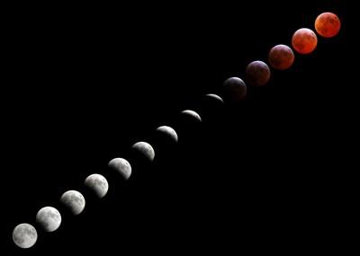 Eclissi Luna 03 marzo 2007
