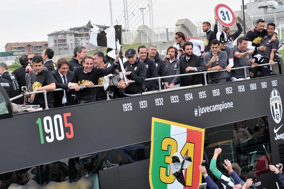 Juventus, festa scudetto