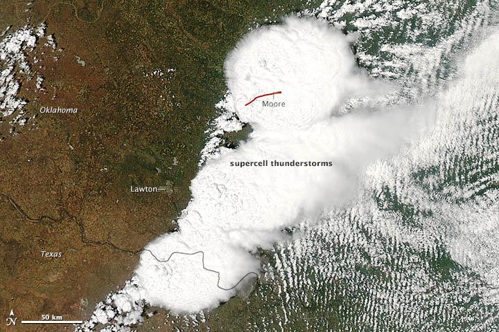 MODIS-Map