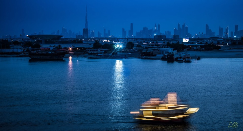 Dubai, the creek.