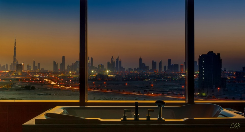 Intercontinental Dubai, Festival city.